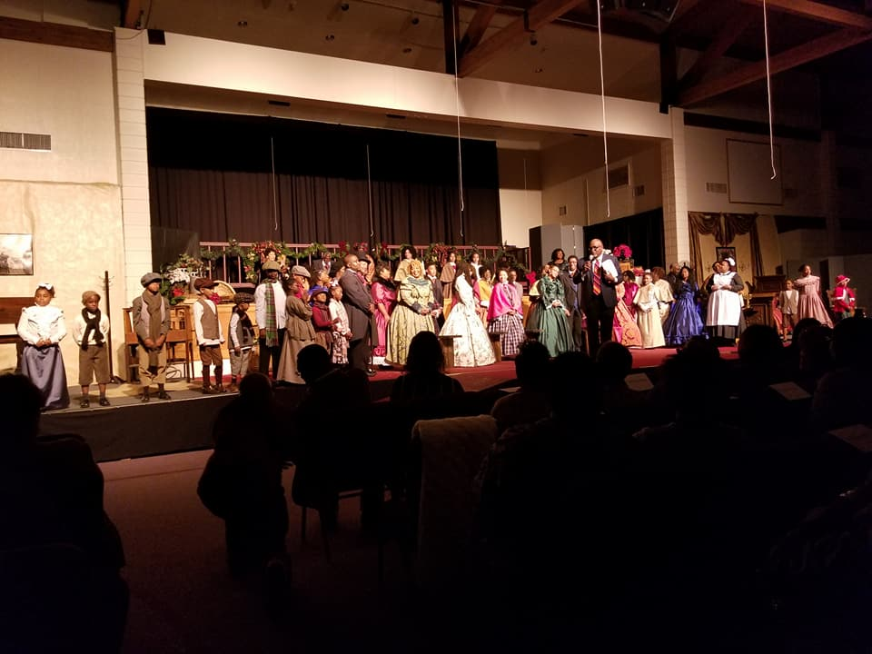 "JWCPA presents ""The Gospel According to Scrooge"""