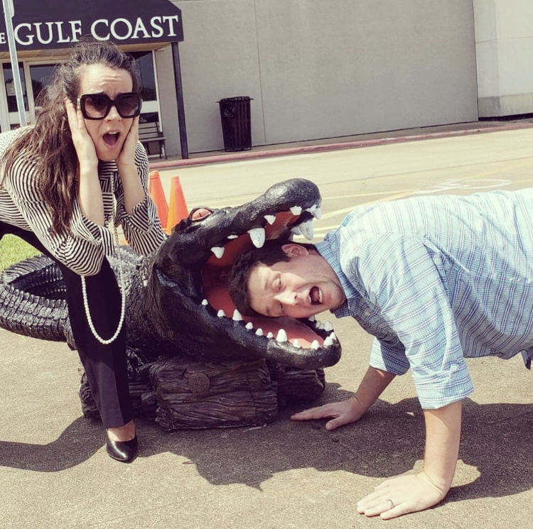 Get a gator #selfie at Museum of the Gulf Coast