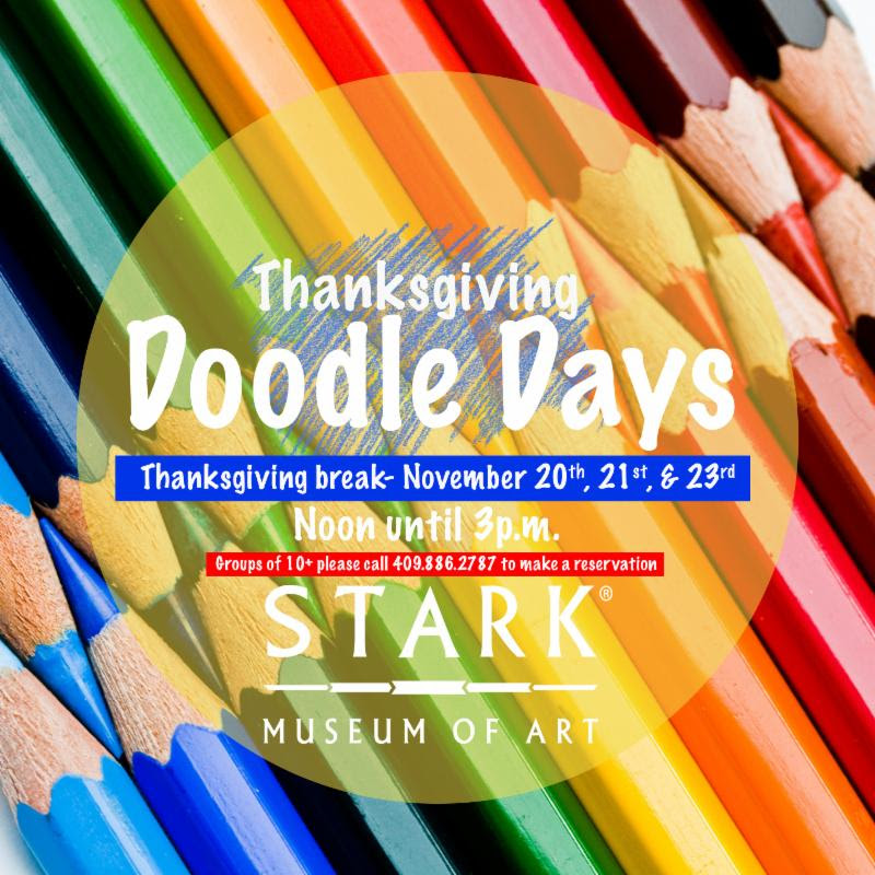 Thanksgiving Doodle Days at Stark Museum of Art
