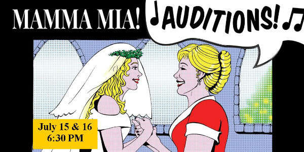 Beaumont Community Players Mamma Mia Auditions