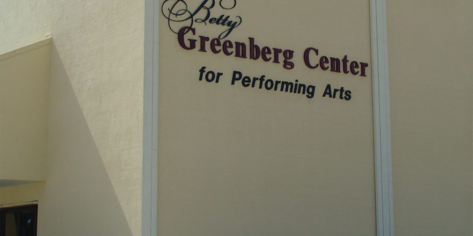 Betty Greenberg Center for the Performing Arts