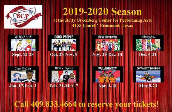 Beaumont Community Players Season